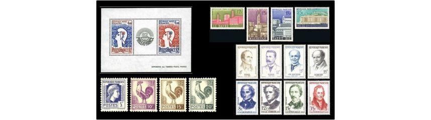lot de timbre poste